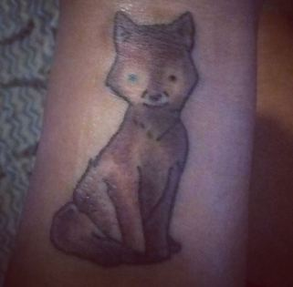husky mix tattoo