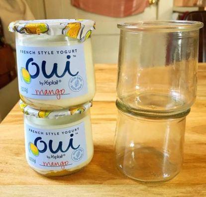 yogurt jars