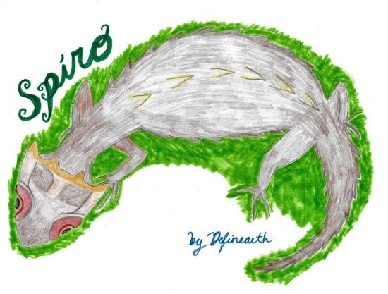crocodile skink