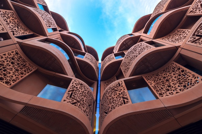 masdar city building