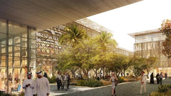 masdar city glass